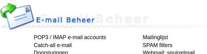 E-mail beheer