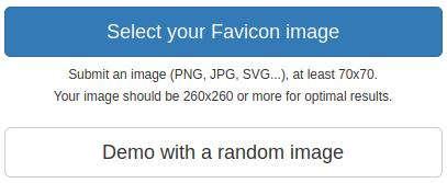 Favicon Generator Begin