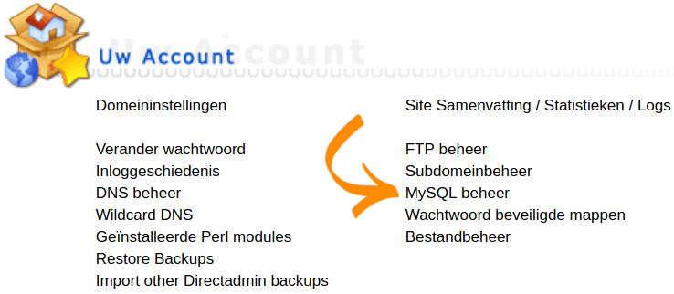 MySQL Beheer
